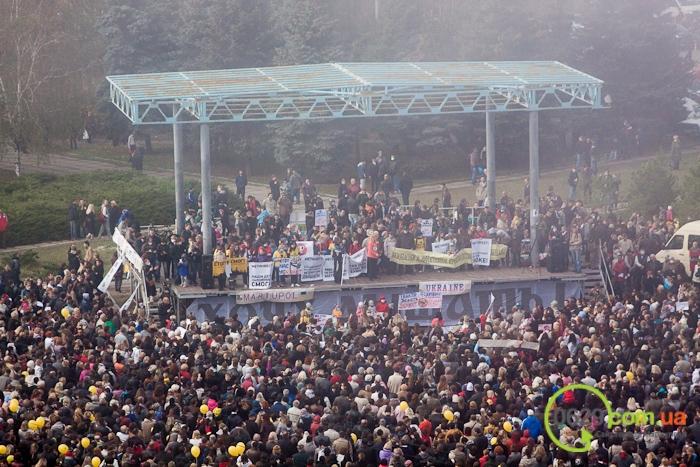 В  Мариуполе экологический митинг собрал тысячи человек (Дополнено+ФОТОРЕПОРТАЖ + ВИДЕО), фото-47