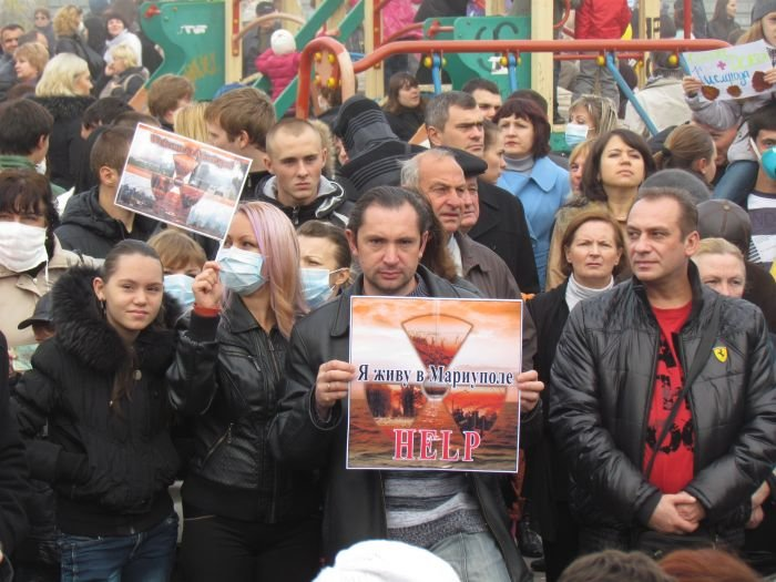 В  Мариуполе экологический митинг собрал тысячи человек (Дополнено+ФОТОРЕПОРТАЖ + ВИДЕО), фото-40