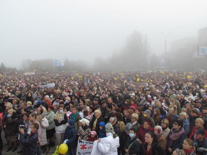 В  Мариуполе экологический митинг собрал тысячи человек (Дополнено+ФОТОРЕПОРТАЖ + ВИДЕО), фото-5