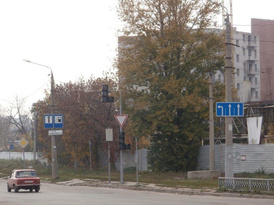 На одном из самых оживленных перекрестков Харькова уже несколько лет не работают светофоры, фото-1