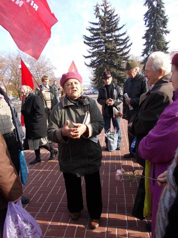 Артемовские коммунисты также, как 95 лет назад, требуют свержения власти, фото-3