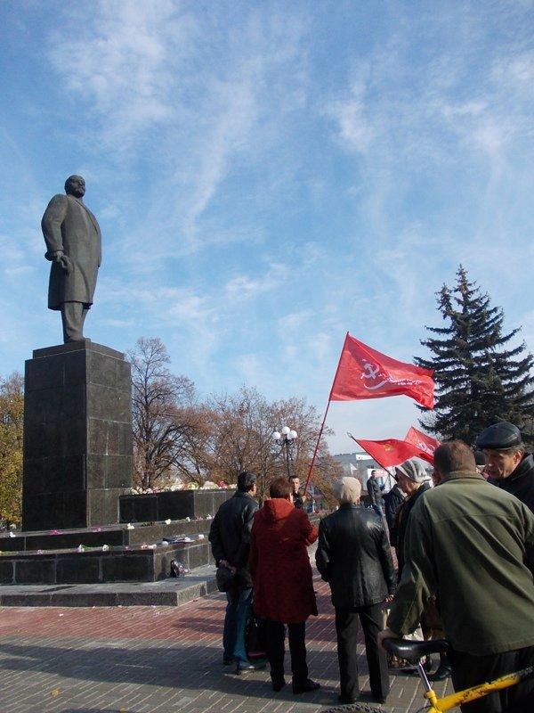 Артемовские коммунисты также, как 95 лет назад, требуют свержения власти, фото-2