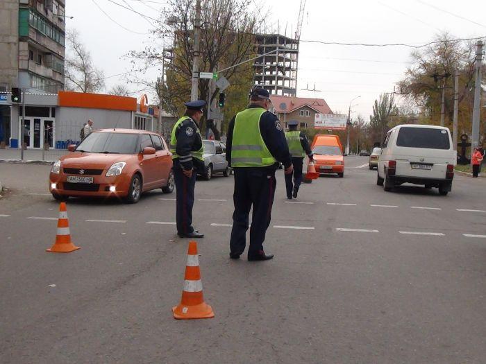 В Мариуполе Chevrolet Aveo сбил женщину(ФОТО+ ВИДЕО с камеры наблюдения), фото-1