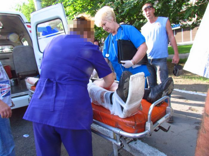 Мариуполец, пострадавший в ДТП, просит очевидцев помочь установить истину (ФОТО), фото-1