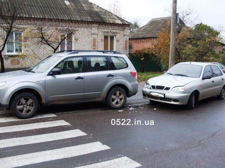 Кировоград. ДТП из-за пешехода?, фото-1