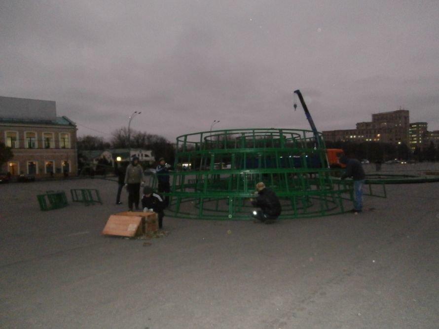 На площади Свободы устанавливают елку, а супермаркеты обвешаны дождиком: Харьков  начал готовиться к новому году (ФОТО), фото-9