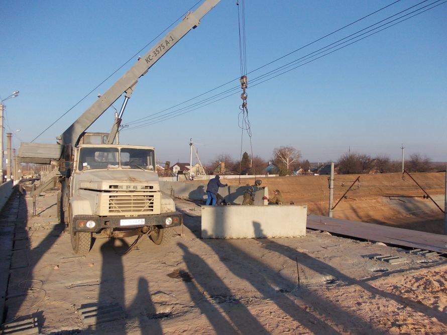 Артемовск: ремонт моста по Леваневского идет с опережением на неделю, фото-1