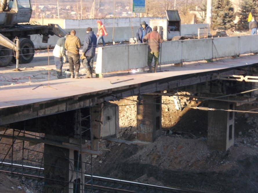 Артемовск: ремонт моста по Леваневского идет с опережением на неделю, фото-7