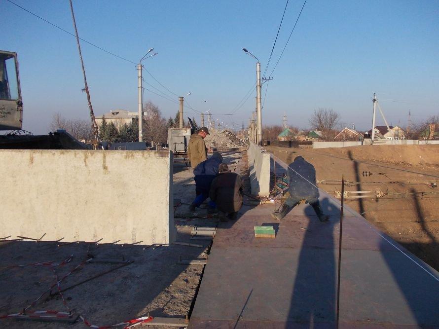 Артемовск: ремонт моста по Леваневского идет с опережением на неделю, фото-2