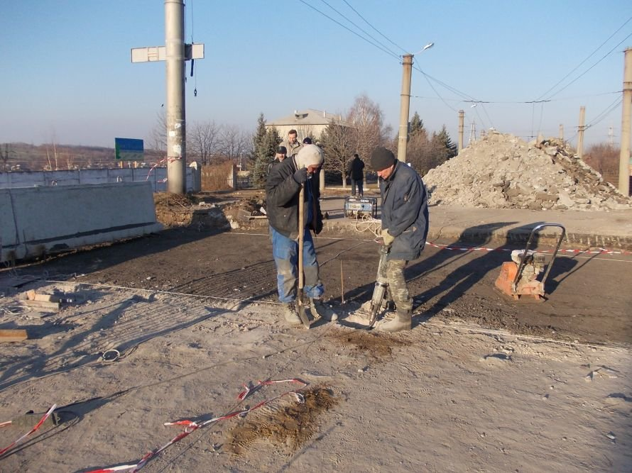 Артемовск: ремонт моста по Леваневского идет с опережением на неделю, фото-4