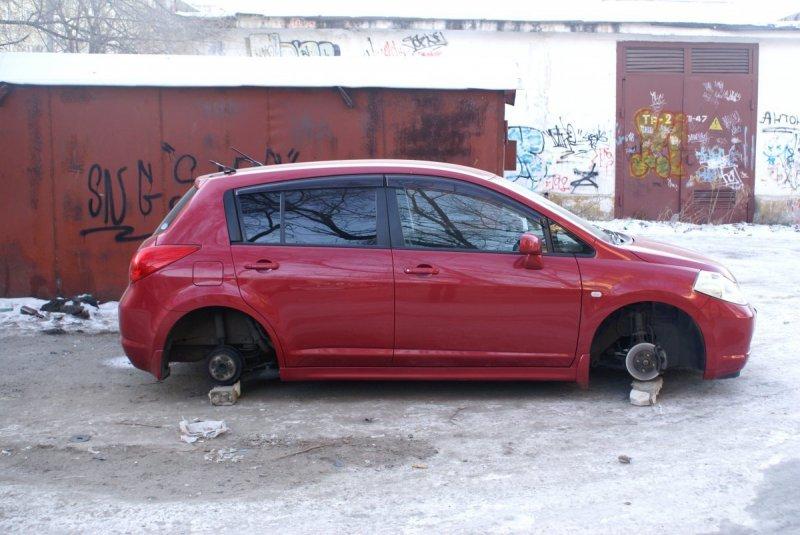 Осторожно, на Полтавщине злоумышленники «разувают» автомобили, фото-1
