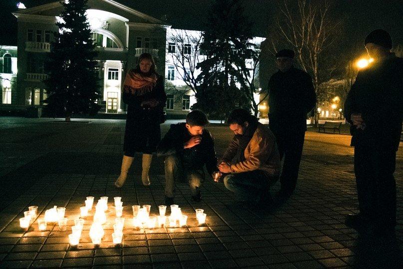 В Артемовске о жертвах голодомора вспомнили под звуки сопилки, фото-1