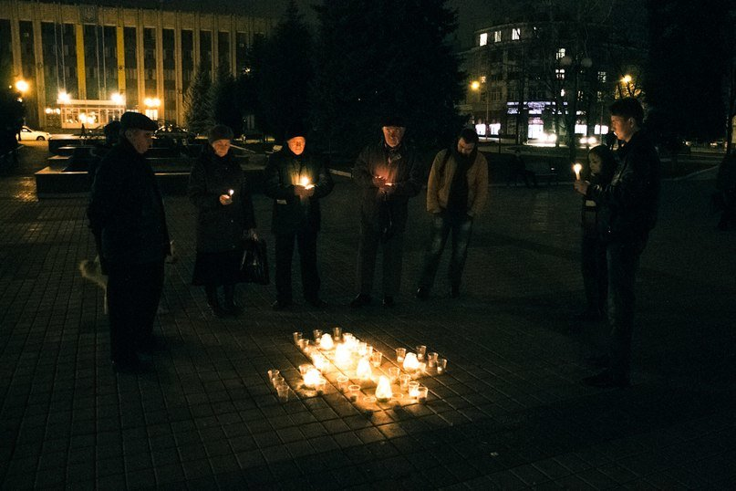 В Артемовске о жертвах голодомора вспомнили под звуки сопилки, фото-2