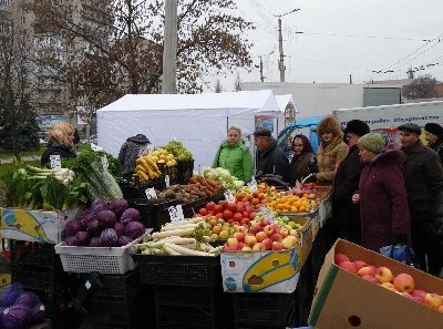 Для кировоградцев провели продуктовую ярмарку (ФОТО), фото-1