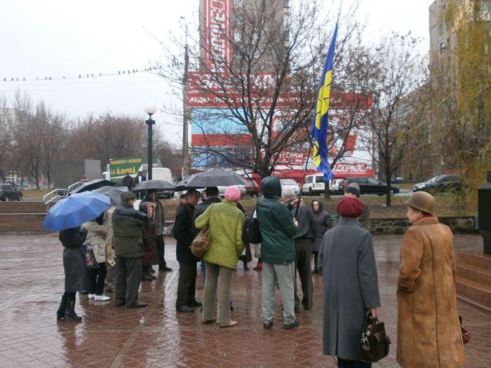 В Мариуполе отметили годовщину  Всеукраинского Референдума (ФОТО), фото-4