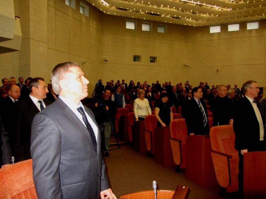 Как днепропетровские депутаты принимали флаг и меняли бюджет (ФОТОРЕПОРТАЖ), фото-8