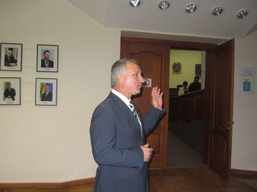 Как днепропетровские депутаты принимали флаг и меняли бюджет (ФОТОРЕПОРТАЖ), фото-11