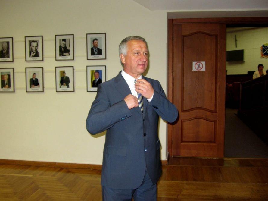 Как днепропетровские депутаты принимали флаг и меняли бюджет (ФОТОРЕПОРТАЖ), фото-12