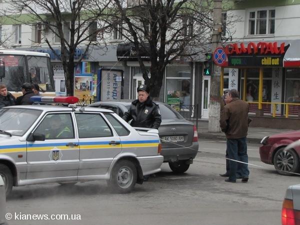 Из-за аварии центр Симферополя замер в огромной пробке, фото-3