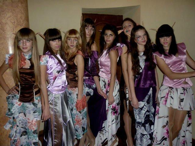 Артемовские модели дефилировали на показе у Зайцева, фото-2
