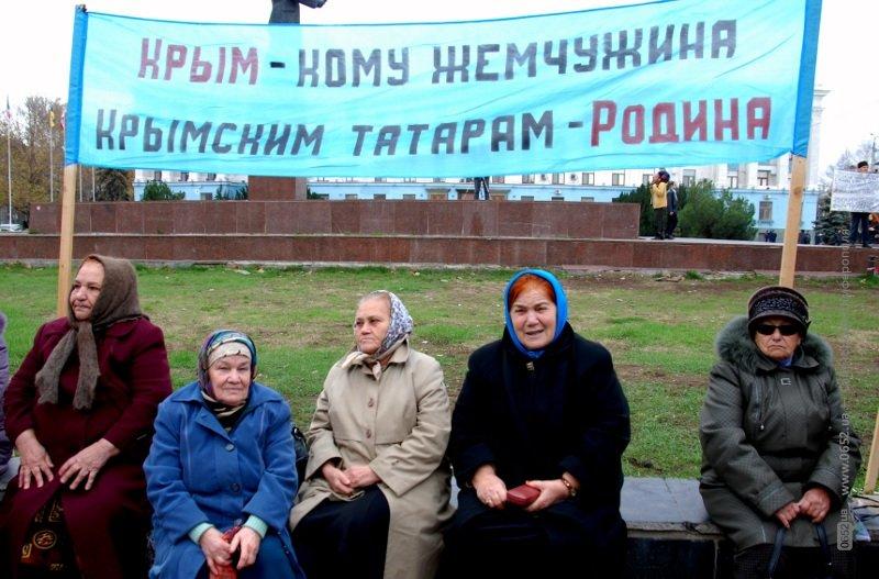 В Симферополе крымские татары клеймили позором Могилева и требовали наказать «казаков-разбойников» (фото), фото-2