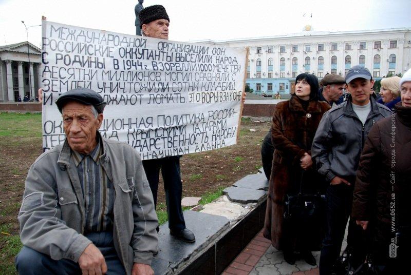 В Симферополе крымские татары клеймили позором Могилева и требовали наказать «казаков-разбойников» (фото), фото-3