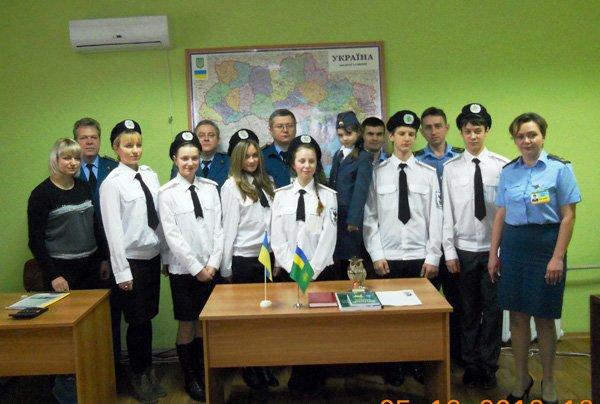 Горловские школьники побывали на таможенном посту, фото-1