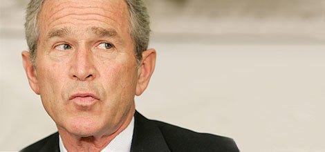 Джорджа Буша не пугает низкий рейтинг, фото-1