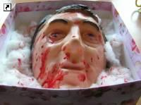 Ужас. Тимошенко подарили... голову Ющенко. Фото, фото-1