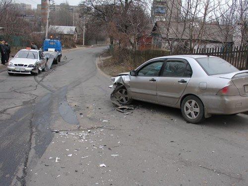 Автомобильная авария в Приморском районе (фото), фото-1