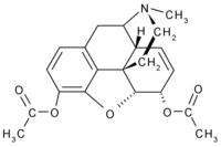 Химическая формула героина