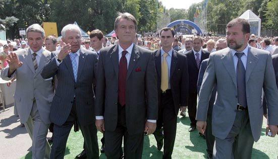 Визит Ющенко в «неслучайный» регион, фото-1