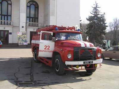Пожарные на Театральной площади, фото-1