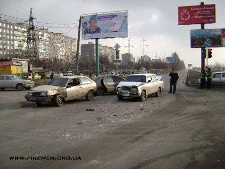 Авария на пересечении улиц Куприна и К.Либкнехта, фото-1