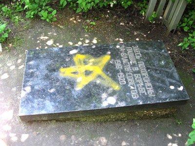 Осквернение могилы на новоселовском кладбище (фото), фото-1