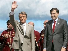 Ющенко в Тбилиси: Наше сердце принадлежит вам, фото-1