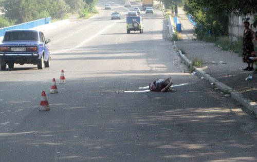 Возле автовокзала сбили женщину. Водитель с места происшествия скрылся (фото), фото-1