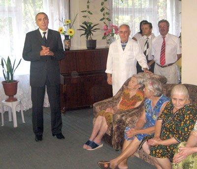 Встреча заместителя городского головы Г.Митрофанова с ветеранами (фото), фото-1