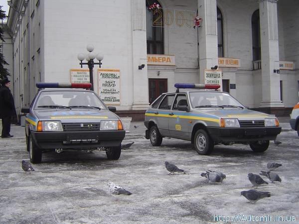 Город подарил ГАИ новые автомобили (Фотоотчет), фото-1