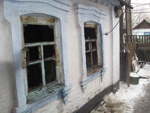 Пожар в доме в пос. Горький. Подробности случившегося. (ФОТО), фото-1