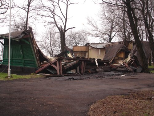 В «Городском саду» рухнул павильон (ФОТО), фото-1