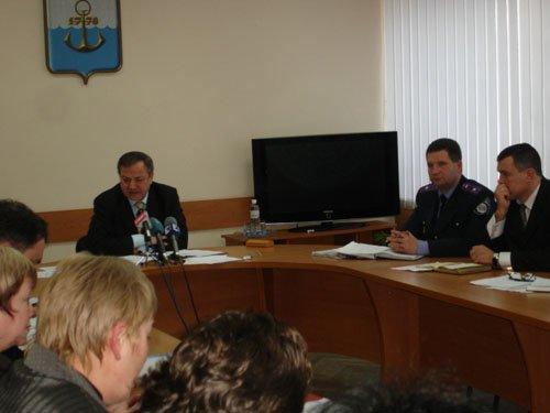 Совещание комиссии по вопросам безопасности дорожного движения.