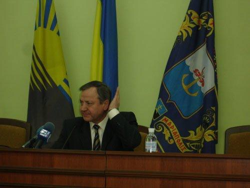 Городской голова Юрий Хотлубей