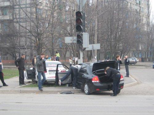 Авария на пересечении бульвара Шевченко и ул. 9 авиадивизии