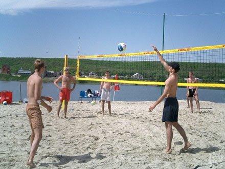 Мариуполь принимает чемпионат Украины по пляжному волейболу, фото-1