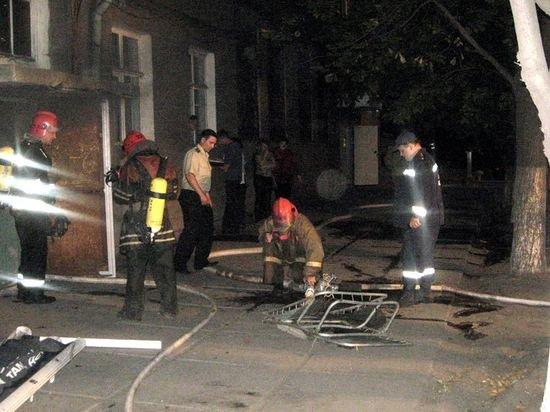 Пожар в доме по ул. Энгельса