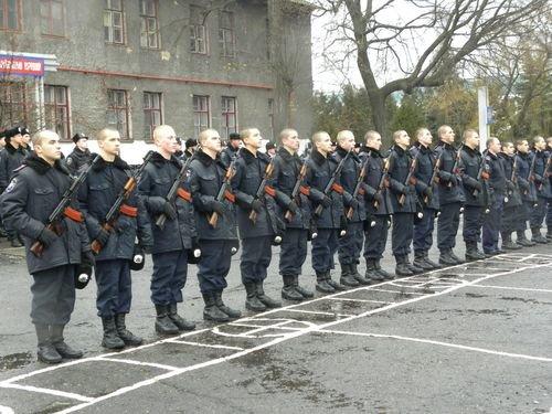 В Мариуполе новобранцы присягнули на верность народу Украины , фото-1