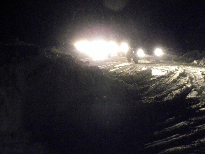 Мариупольцы вызволяли земляков из снежного плена (Добавлены ФОТО), фото-1