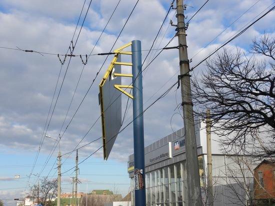 В Мариуполе снова авария с билбордом (ФОТО) , фото-1