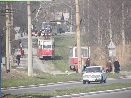 На бульваре Шевченко – ЧП: у трамвая сломался пантограф (ФОТО), фото-1